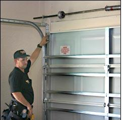 install garage door